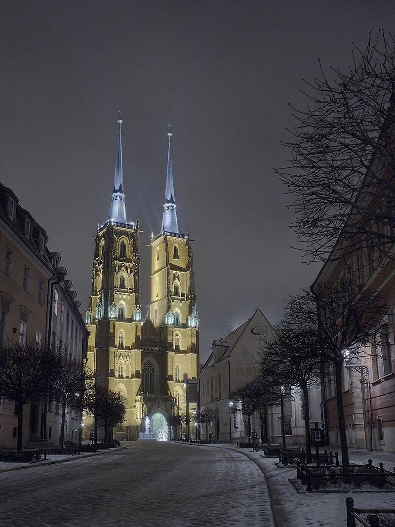 Cathedral of St. John the Baptist on Ostrów Tumski.
