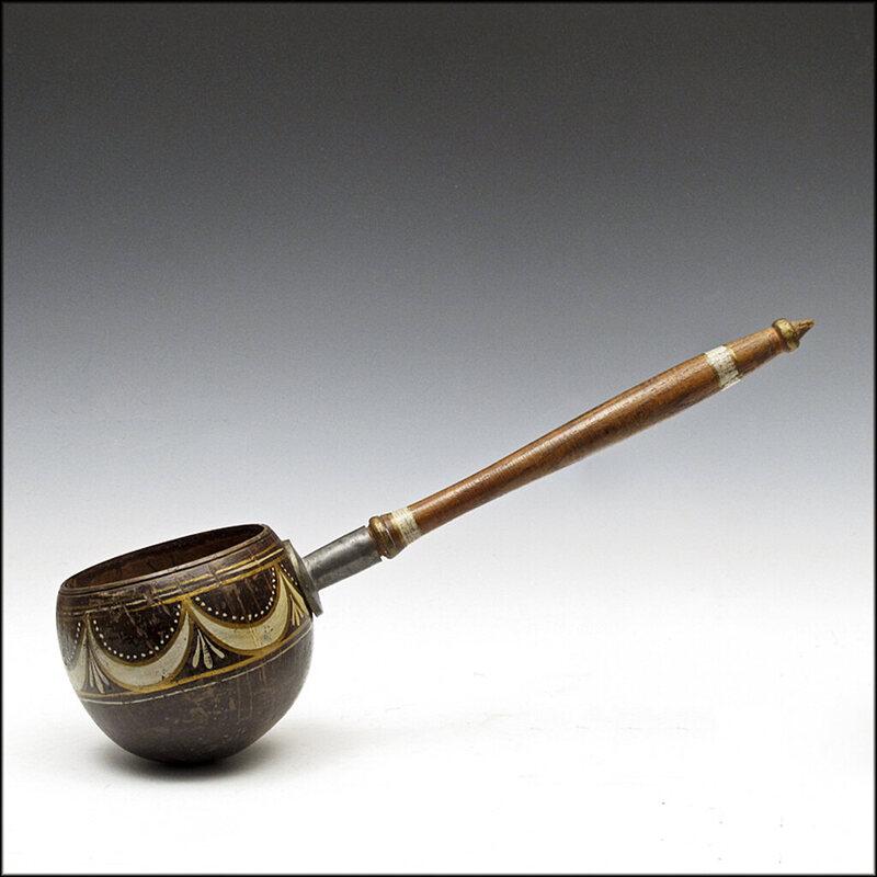 A 19th-century coconut dipper: It's pure Americana.