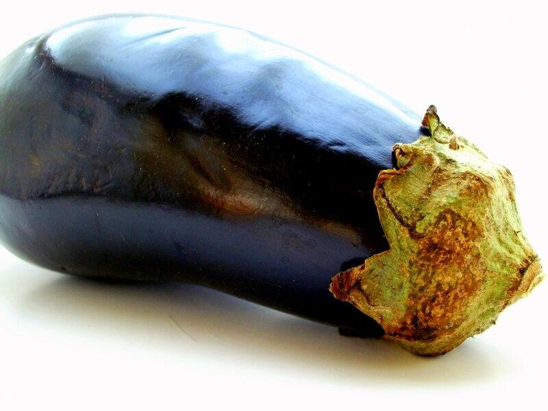 The saucy eggplant.