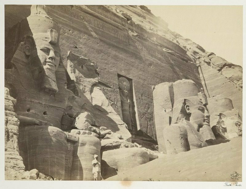 Crews sawed the temple into 20-ton blocks before reassembling it farther away from the Nile.