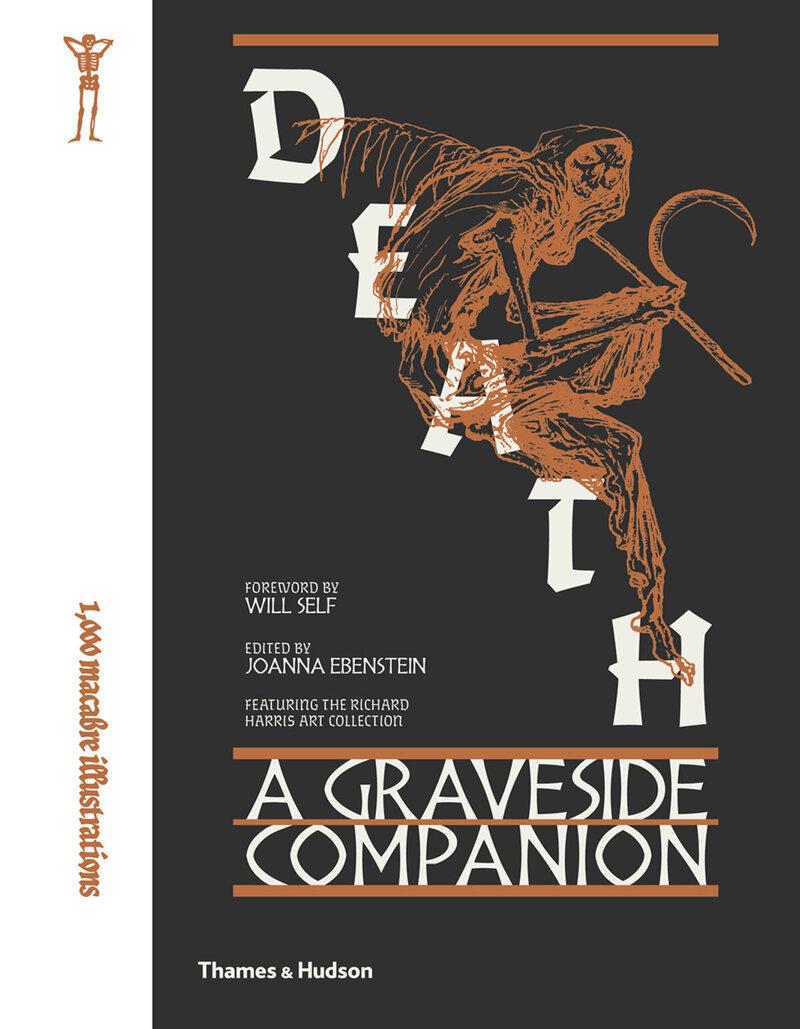 Cover of <em>Death: A Graveside Companion</em>.