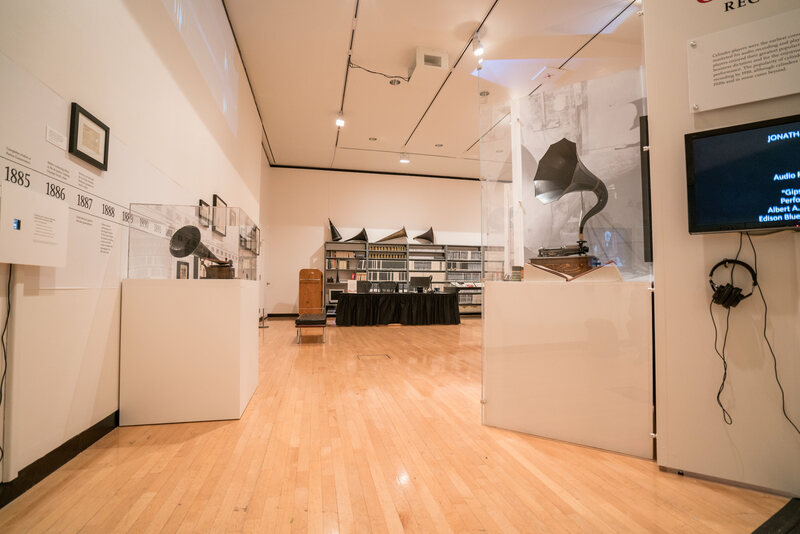 The exhibit uses audio technology as a lens to examine Toscanini's life and work.