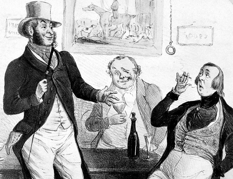 Men of all social classes mingled in the molly house.