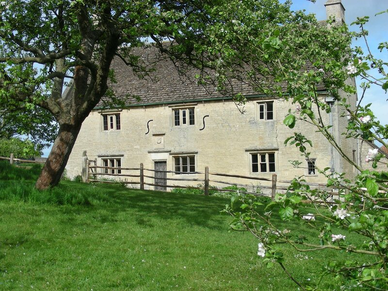 Woolsthorpe Manor, the 17th-century house where Newton grew up.