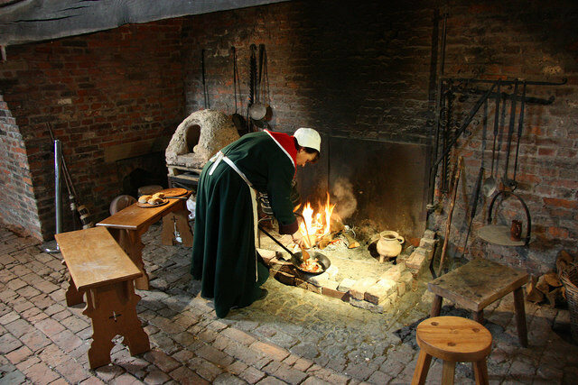 Cooking Medieval Style At The Gainsborough Old Hall Kitchen