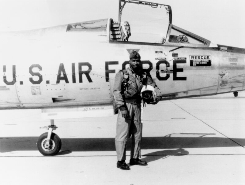 Robert Lawrence, Jr. was chosen to serve in the MOL, an Air Force space program.