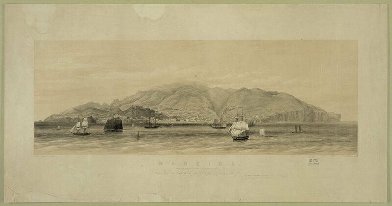 An undated image of the island of Madeira.