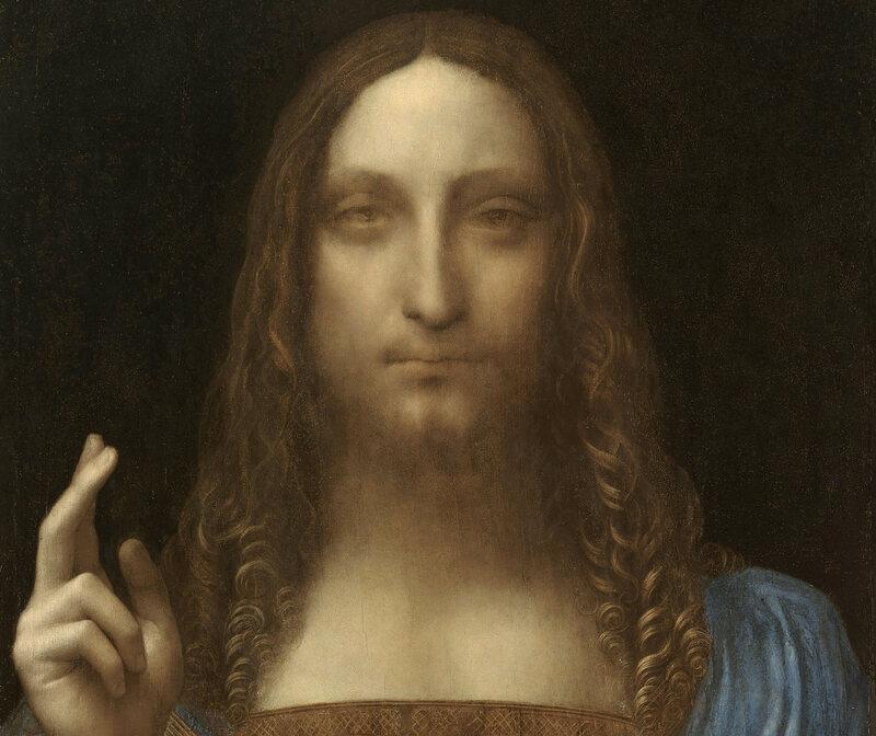 Da Vinci's <em>Salvator Mundi</em> sold for over $450 milliion.