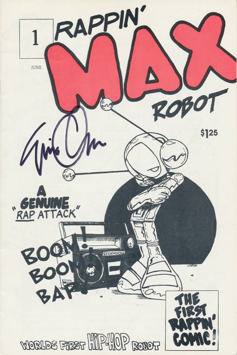 Issue 1 of Rappin' Max Robot.