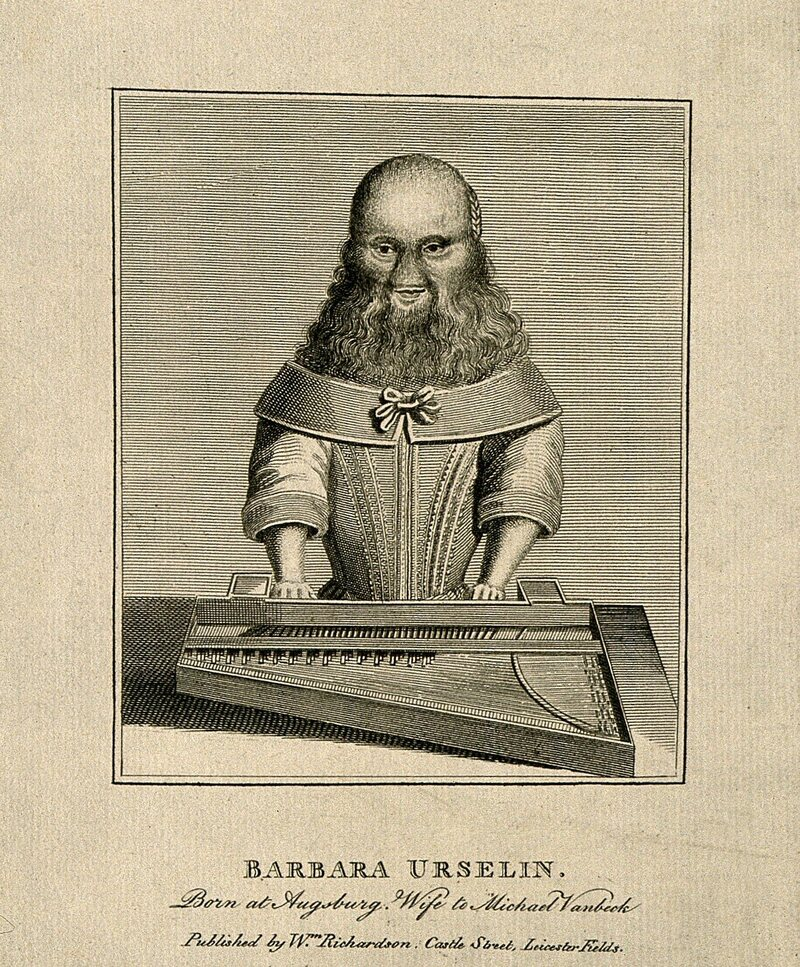 Van Beck was sometimes known as Barbara Urselin, likely a variant on <em>ursa</em>, the Latin for she-bear.
