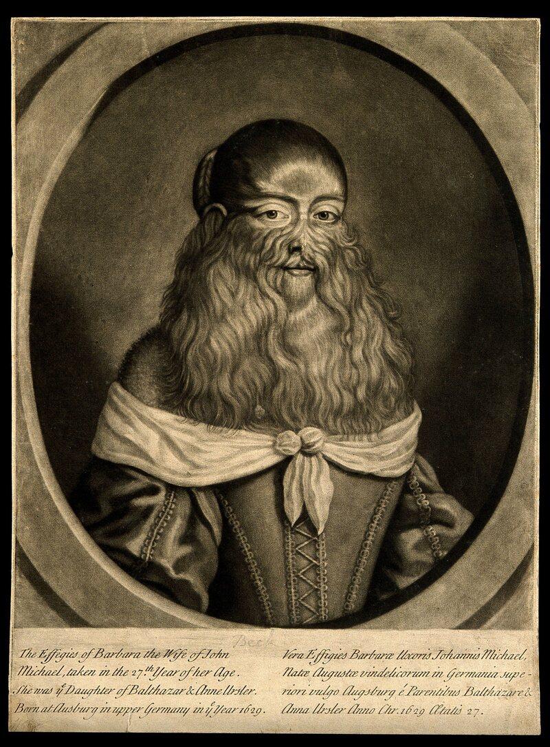 A 17th-century mezzotint of Van Beck, artist unknown.