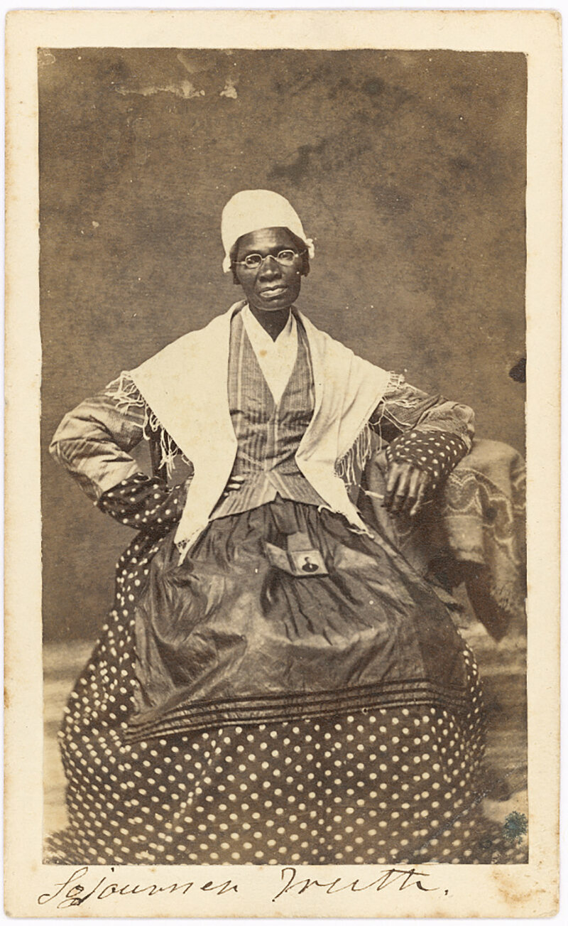 Sojourner Truth, 1863.
