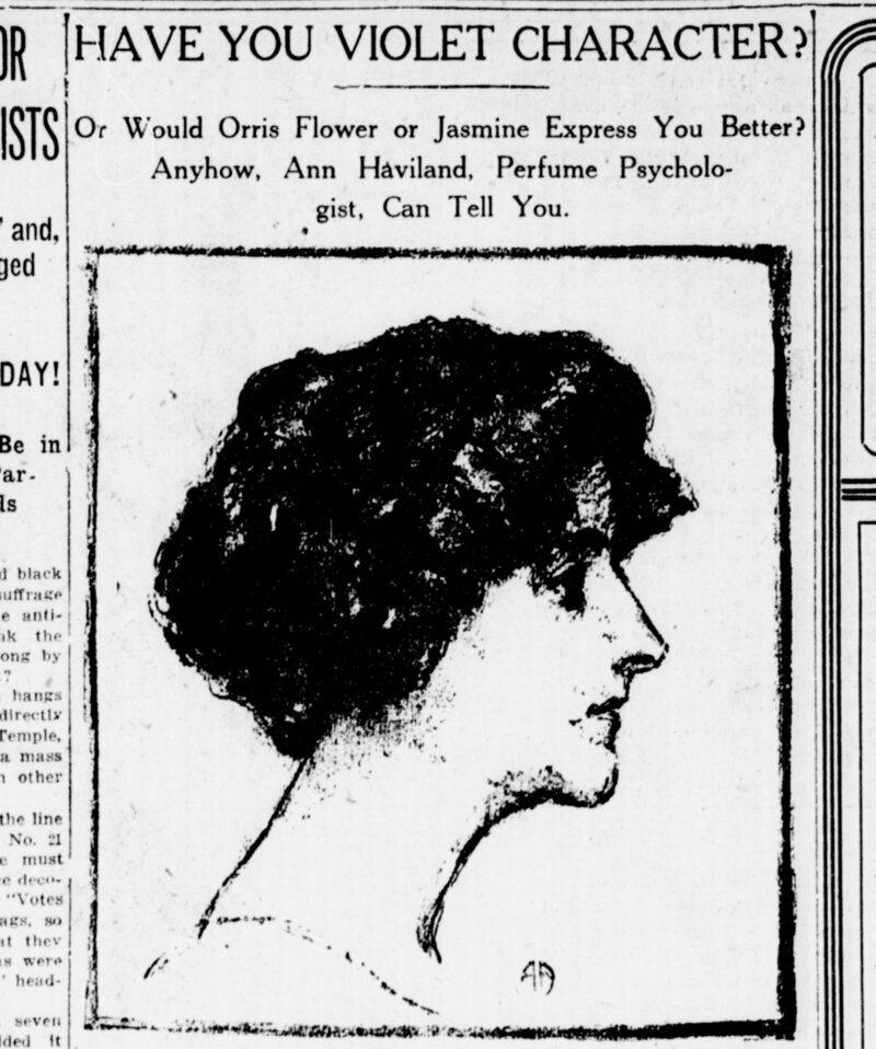 An article about Haviland from the <em>New York Tribune</em>, November 1, 1913.