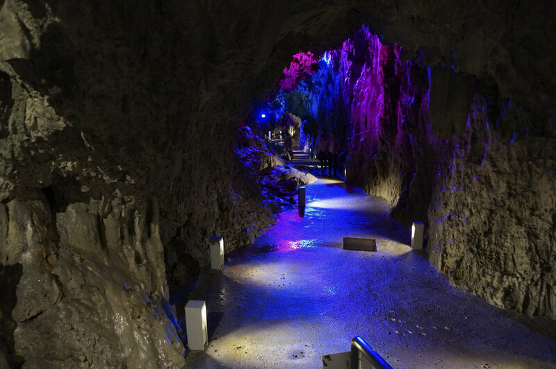 Japan's massive cave is once again open after being closed due to typhoon-related damage.