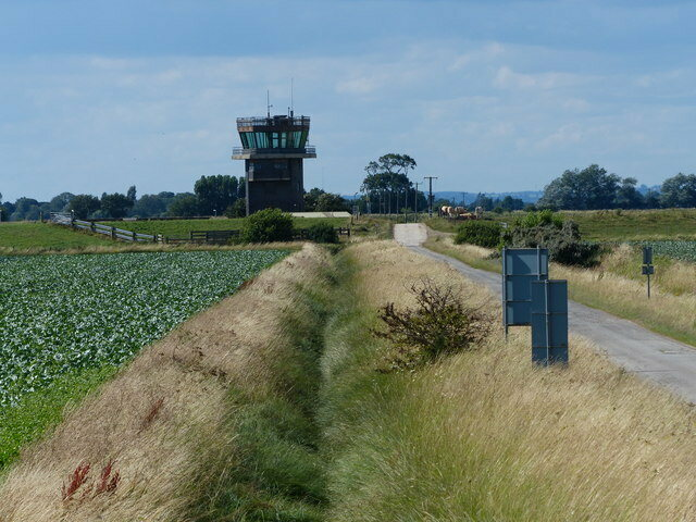 A historic military control tower is now a boutique vacation rental.