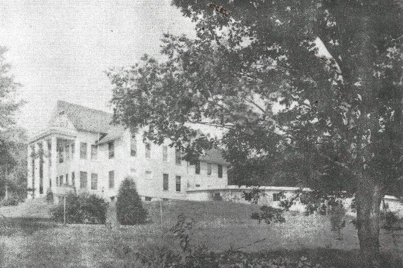 The front of Limair Sanatorium.