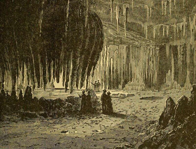 Luray Cavern, c. 1881.