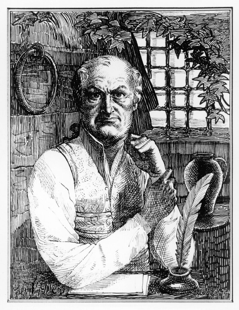 A 19th-century engraving of the Marquis de Sade, whose works were as political as they were pornographic.