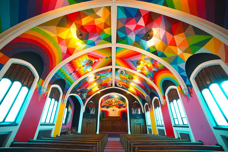 An old Lutheran church is now a house of worship for a new cannabis-loving religion.