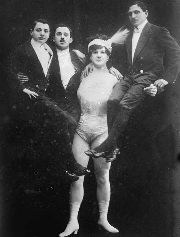 Brumbach holding up three men.