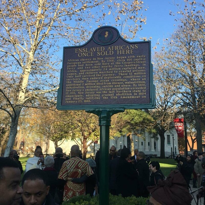 A new plaque is unveiled in Camden.