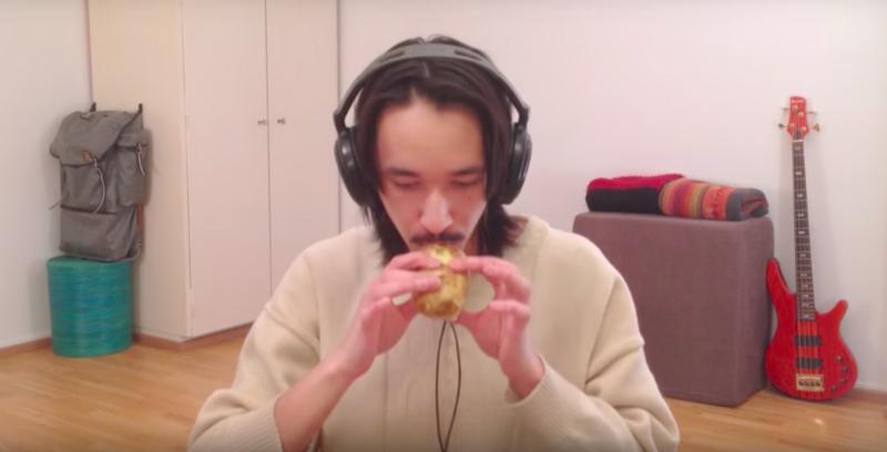 Watch a Man Play 'Sandstorm' on a Potato