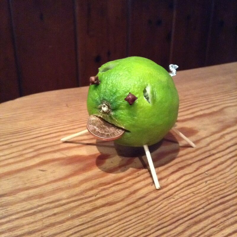 When life gives you limes, you make a lime pig.