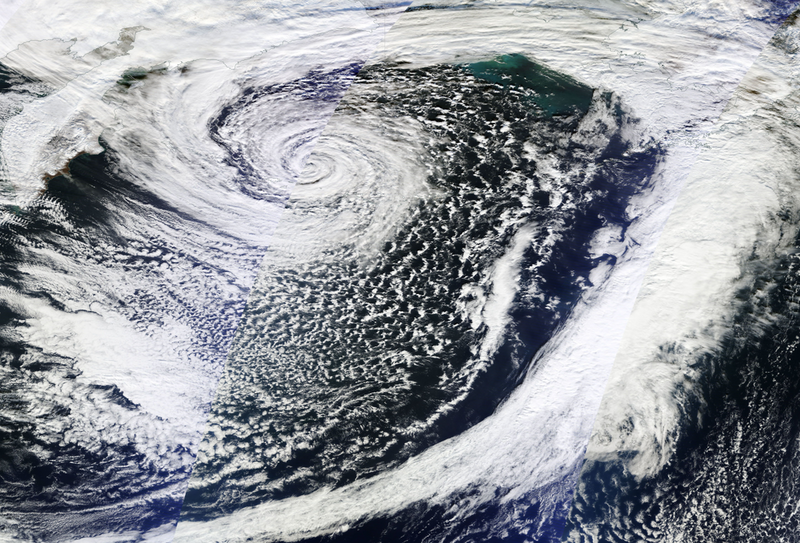 A bomb cyclone from 2014.