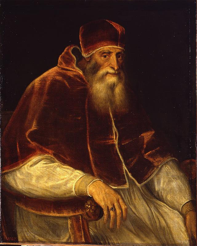 Pope Paul III said he needed salt taxes to finance wars against heretics.