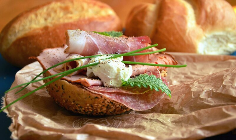 Is central Italian bread saltless because the local cheese and ham are particularly salty?