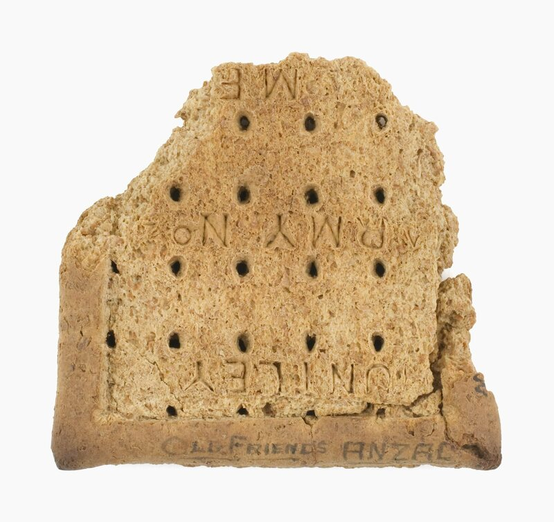 Australian Soldiers Used to Write Letters Home on Crackers - Gastro ...
