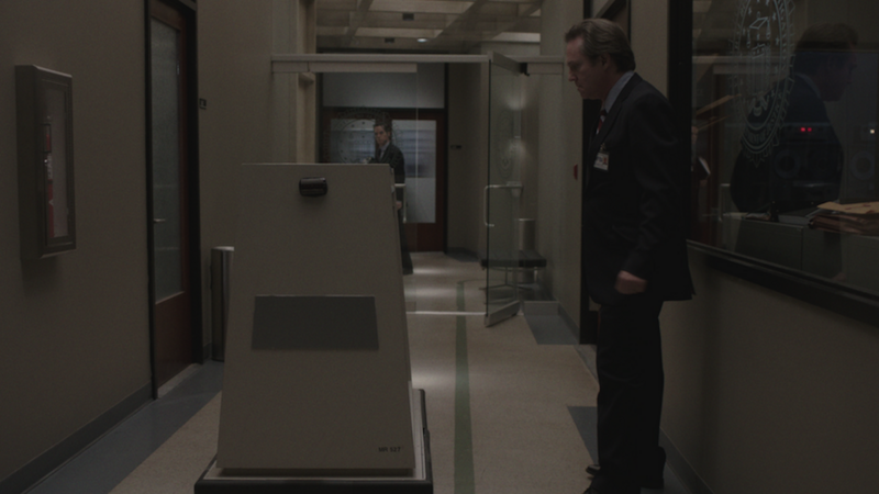 The mail robot in <em>The Americans</em>.