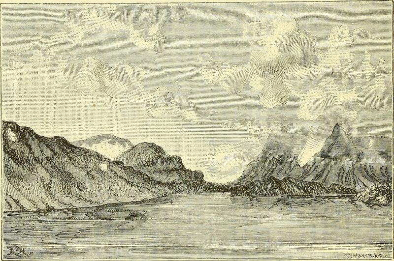 A view of Novaya Zemlya, 1875.