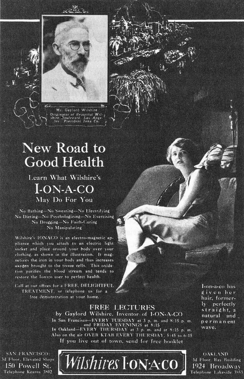 Electric coils, such as the I-on-a-co and the Theronoid, promised  to cure arthritis and curl hair.