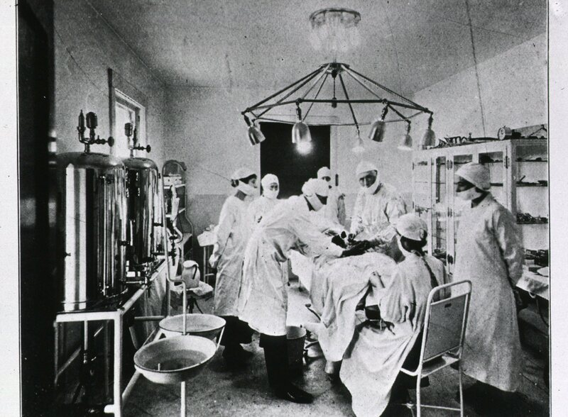 J.R. Brinkley and his team of surgeons famously advertised that their goat-gonad transplants were the key to a rollicking sex life.