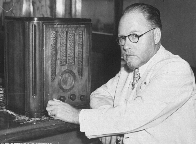 J. R. Brinkley was a pioneer of radio quackery.