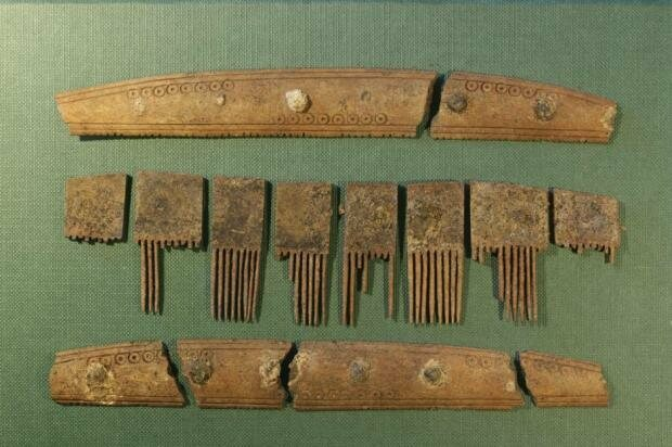 """This Viking comb had the word """"comb"""" inscribed on it."""