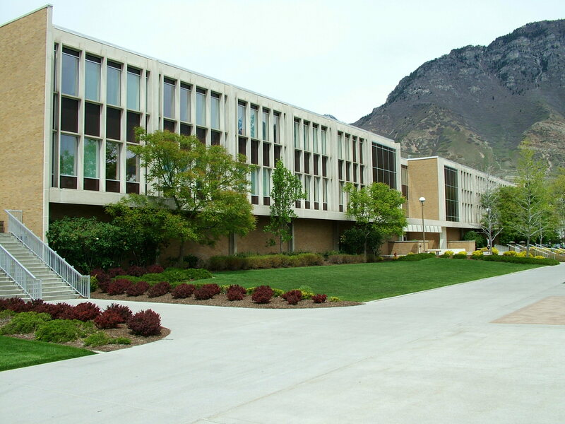 The Harris Fine Arts Center of Brigham Young University.