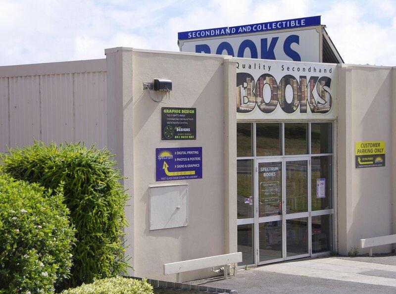 Lorraine Smith's secondhand bookshop.