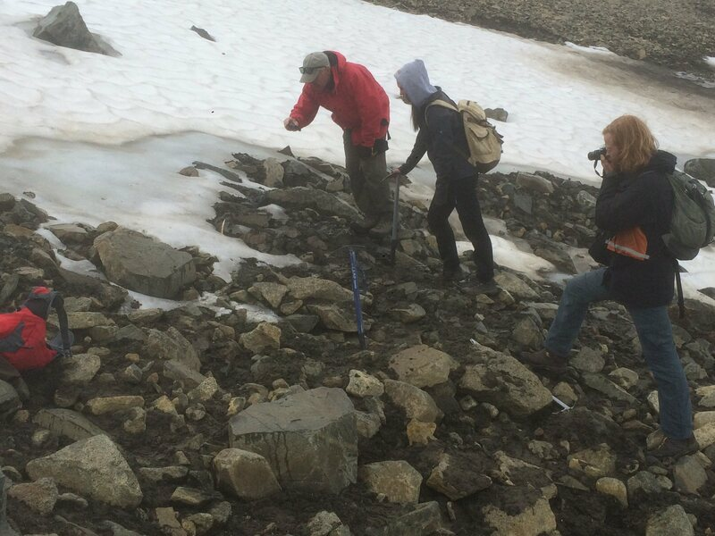 Melting Yukon ice patches are revealing traces of ancient hunters.