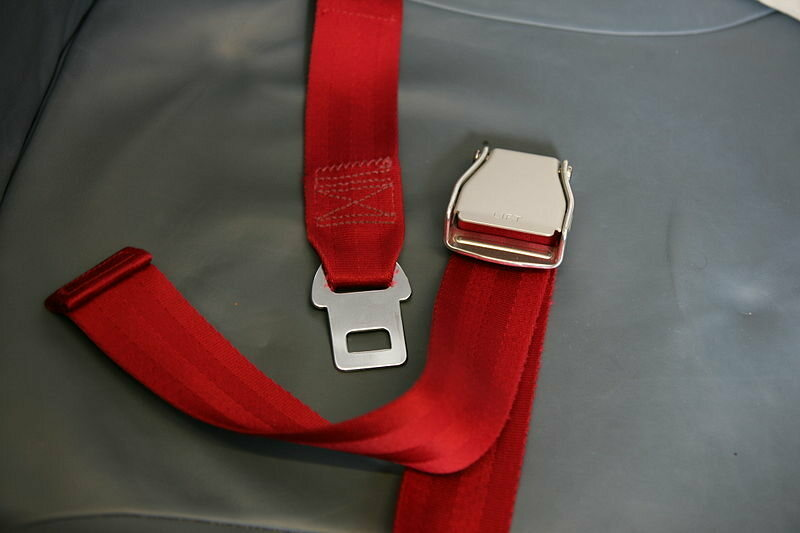 """The """"lift lever buckle""""."""