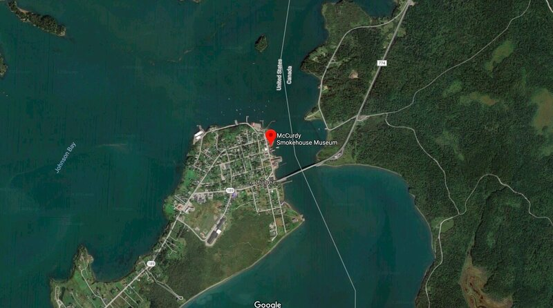 It's less than a mile from Lubec, Maine, to Canada's Campobello Island.