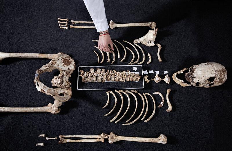Early Briton had dark skin, blue eyes