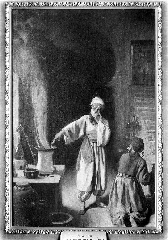 al-Razi at work.