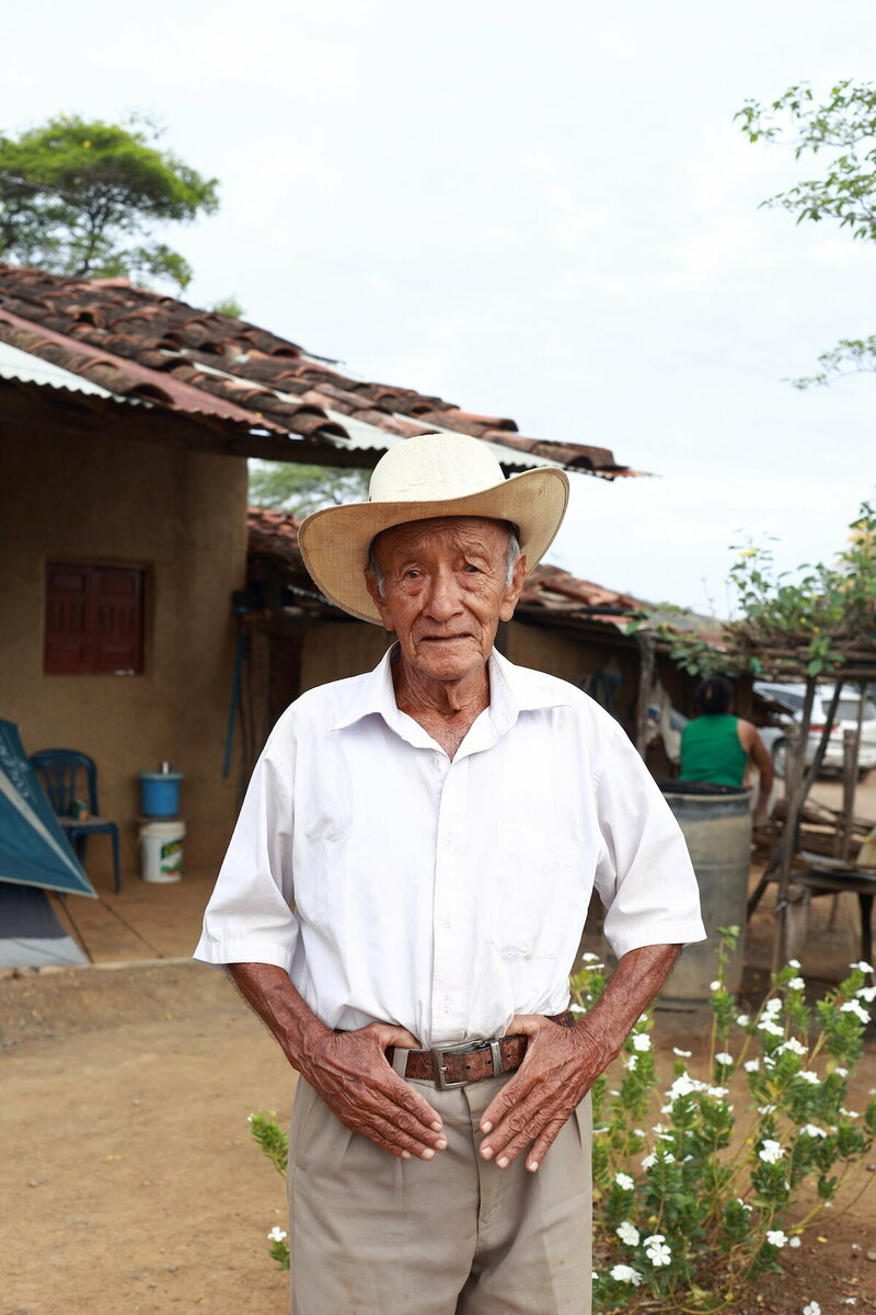 Luis Manuel Aponte Castillo, 88, has lived in Mangahurco all his life.