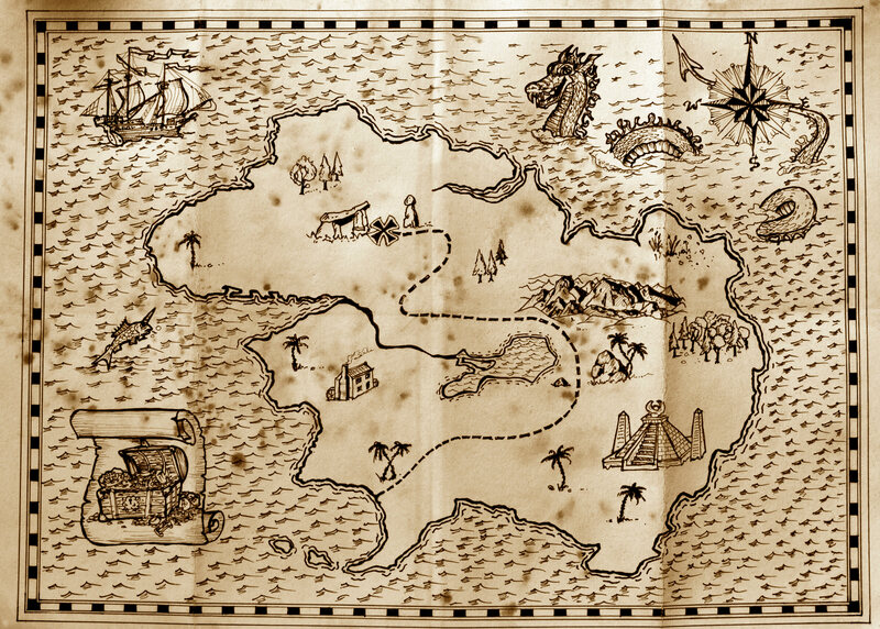 Draw Us A Map Of Your Personal Fantasy Island Atlas Obscura