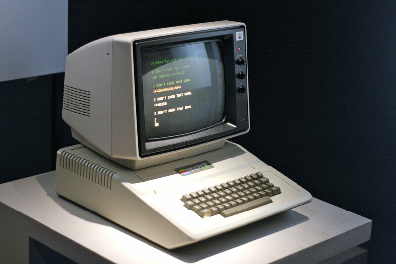 The Apple II series was first introduced in 1977.