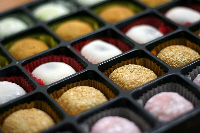 The competition: mass-produced mochi.