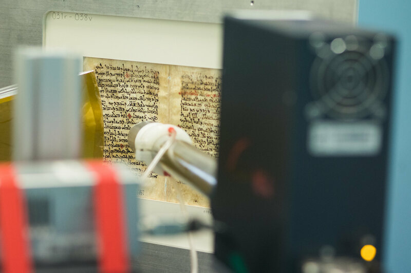 Deciphering an Ancient Medical Text With the Help of X-Rays