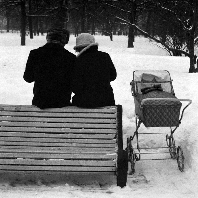 <em>Michurinsky Garden, Leningrad</em>, 1975.